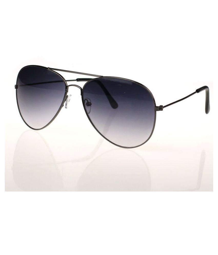 ZXG Black Aviator Sunglasses ( Unisex Classic Aviator Sunglasses. Stylish Outdoo )