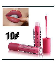 Miss Rose Lip Gloss Liquid Shade Round10 - 3 ml