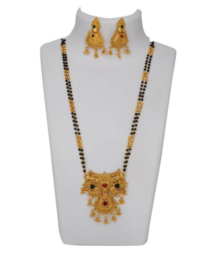 Ankur imitation jewellery gold plated multi color designer ...