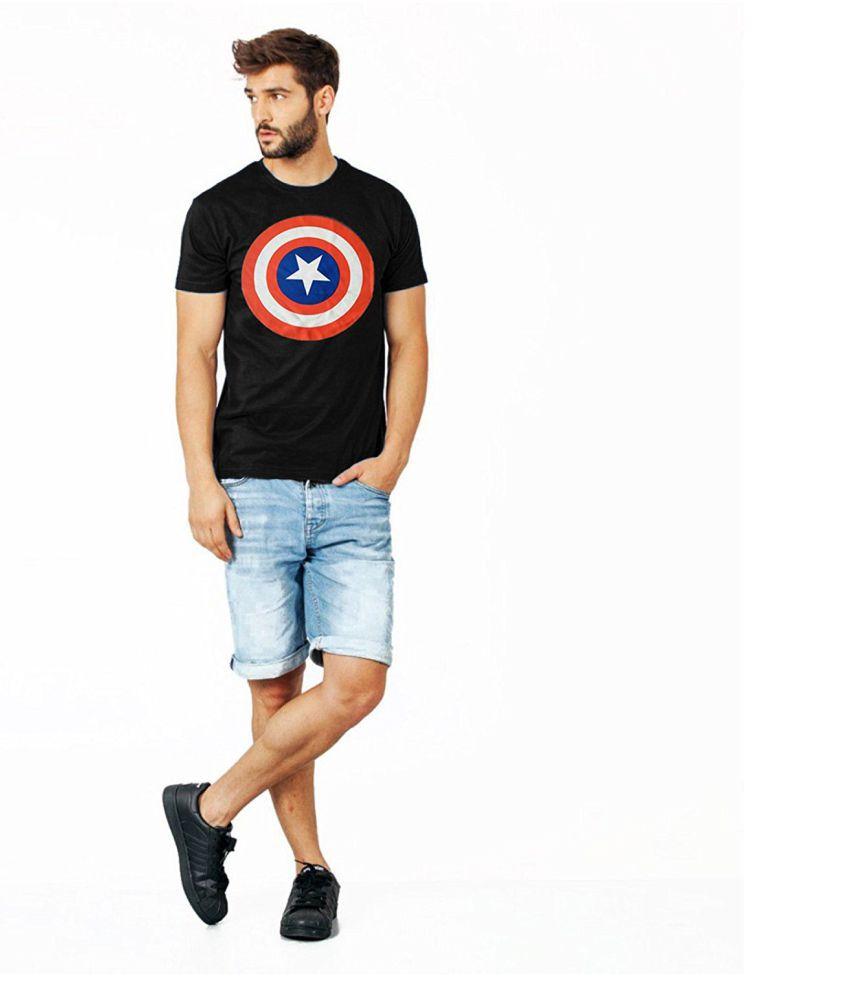 Buynbye Black Round T-Shirt