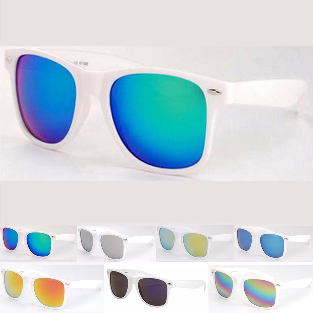 ZXG Multicolor Aviator Sunglasses ( Unisex Classic Retro Wayfarer Sunglasses Stylish  )