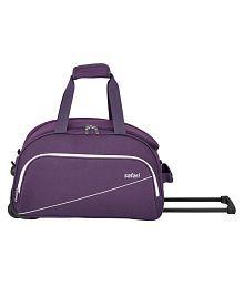 Safari Purple Solid Duffle Bag