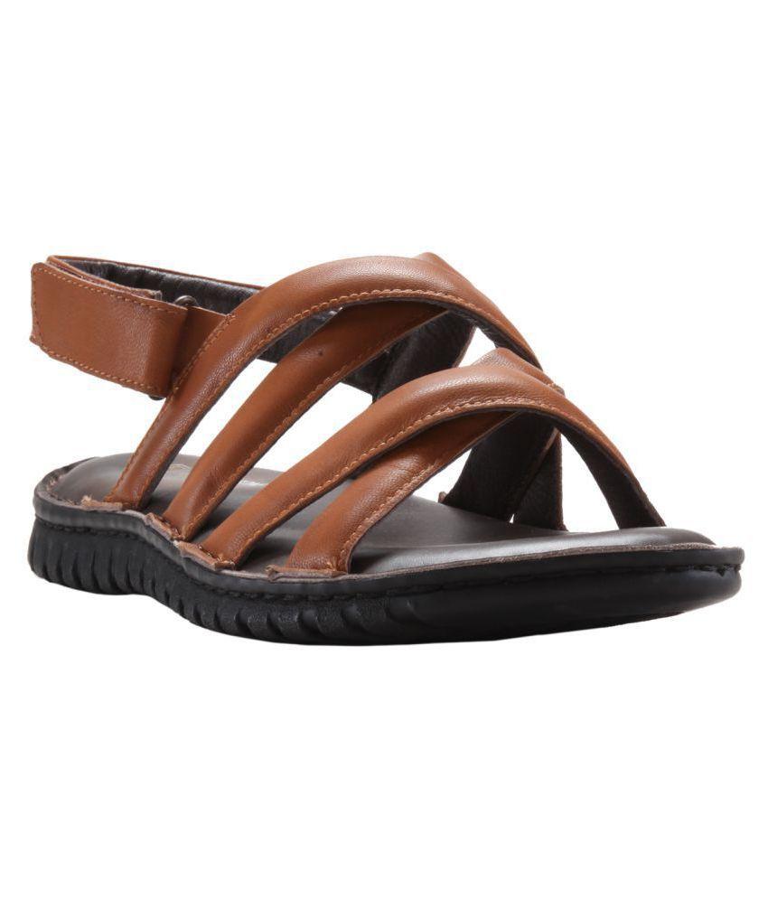 d64519722495 FRANCO LEONE 162303 Tan Sandals Price in India- Buy FRANCO LEONE 162303 Tan  Sandals Online at Snapdeal