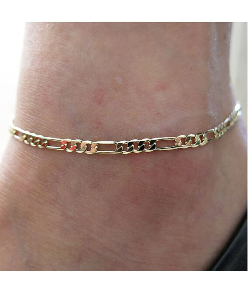 Gold Silver Anklet Foot Chain for Women