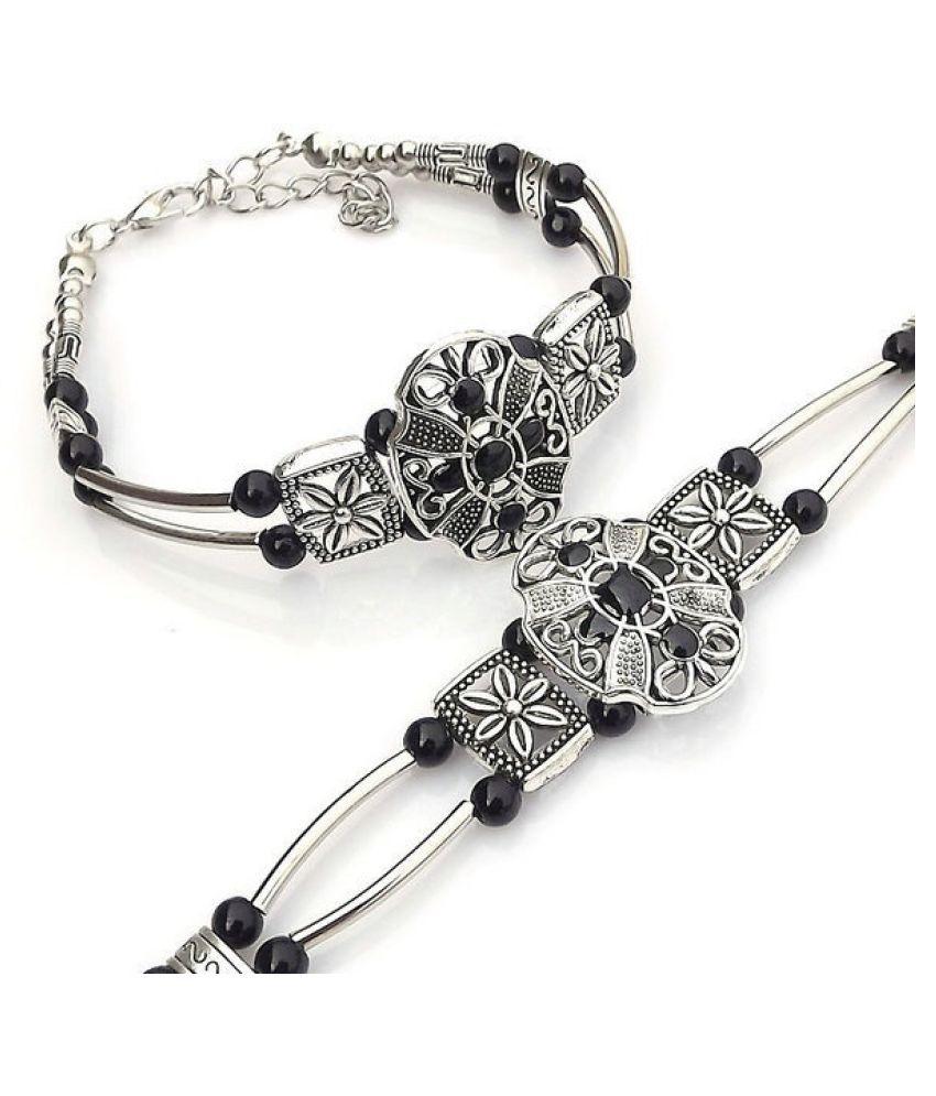 Fashion jewelry decorated bead bracelets Tibetan jewelry bracelet multicolor options S13