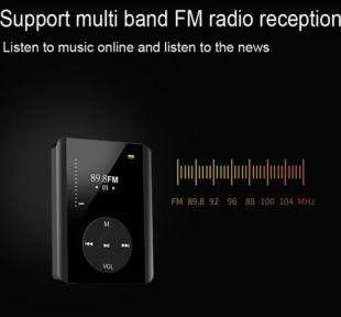 2-256GB MP3 Player MP4 Player FM Radio Album Music Player Lot