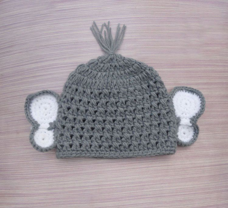 NEW elephant design cap warm hat /Style Cap/newborn knit hats ... | 684x750