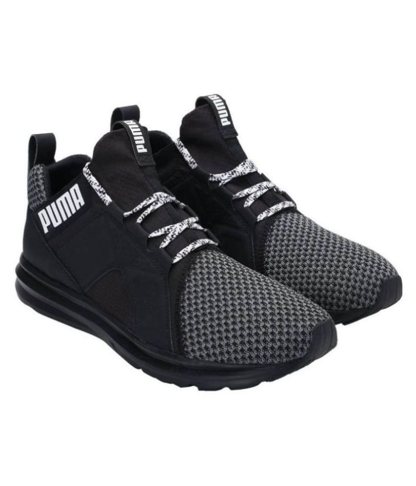 Puma Enzo Terrain Black Running Shoes - Buy Puma Enzo Terrain Black Running  Shoes Online at Best Prices in India on Snapdeal 8a2e63ed9