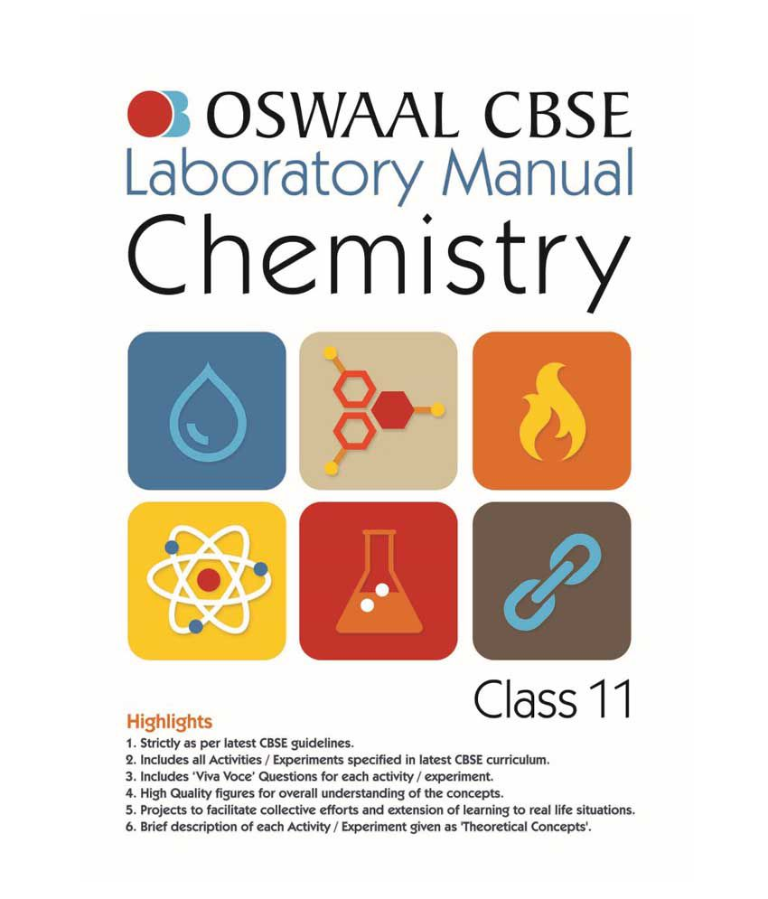 Oswaal CBSE Laboratory Manual Class 11 Chemistry (For March 2019 Exam)