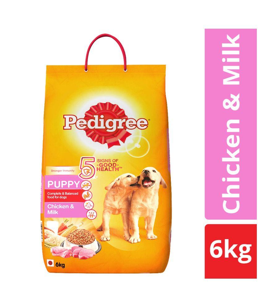 Pedigree Dry Dog Food Chicken Milk For Puppy 6 Kg Buy Pedigree
