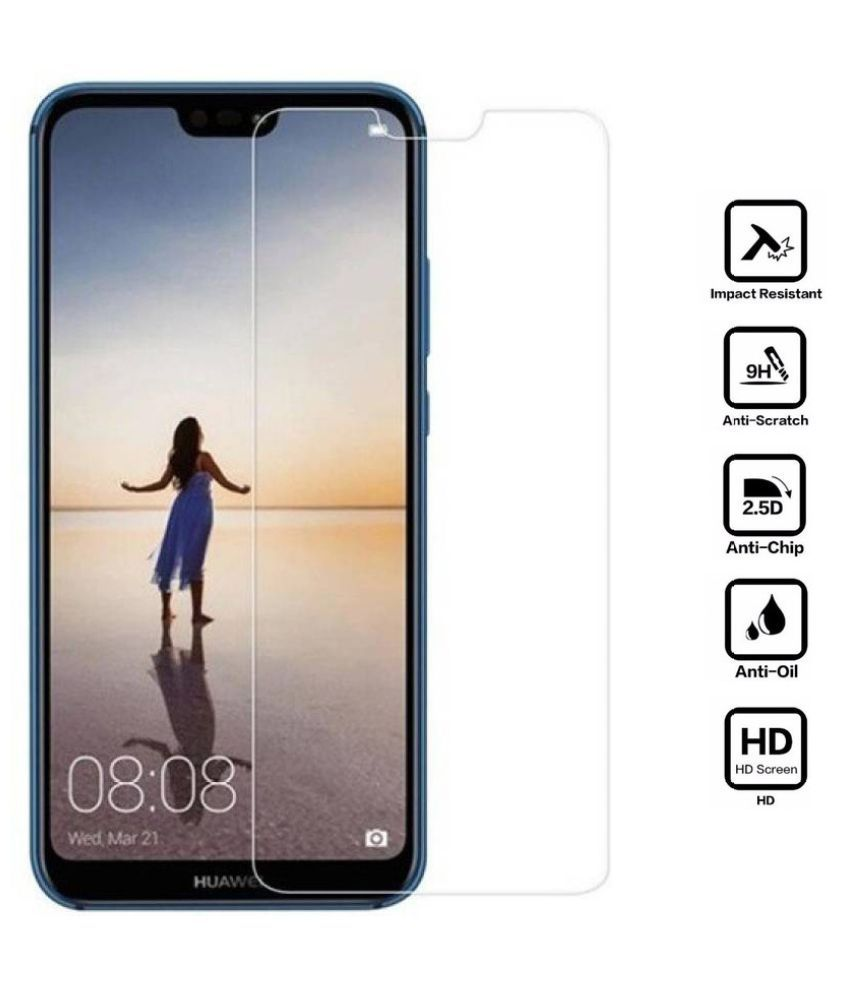 Huawei P20 Lite Tempered Glass Screen Guard By MAXX3D