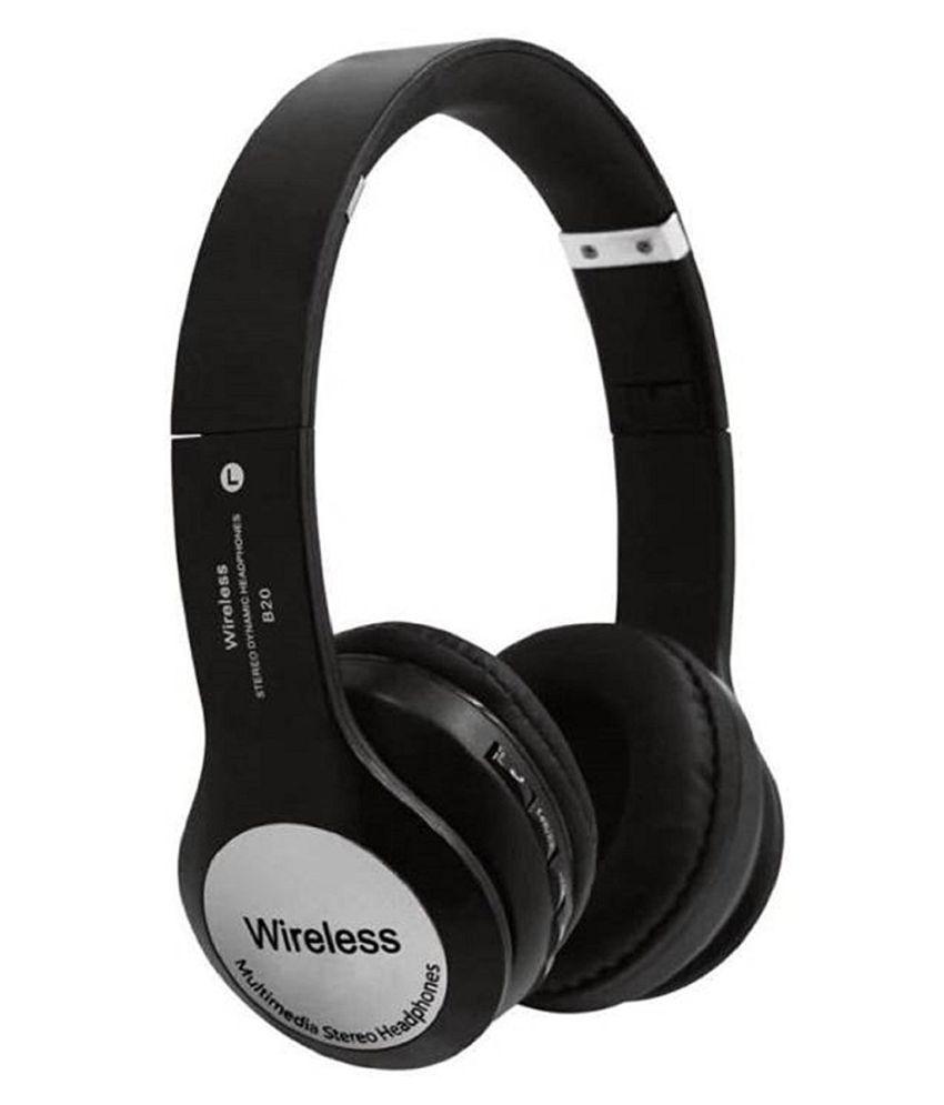 Meckwell B20-A1 Wireless Bluetooth Headphone Black