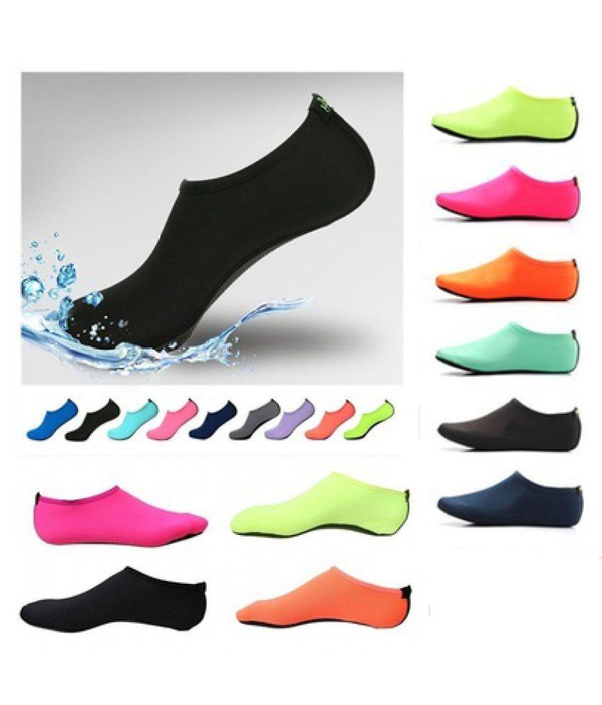 2PCS Uni Barefoot Skin Shoes Aqua Water Summer Yoga Sport Socks Surf Trainers Sandals Footwear Diving Beach Swimming Shoes XXS-XXL 109ZDCP14121