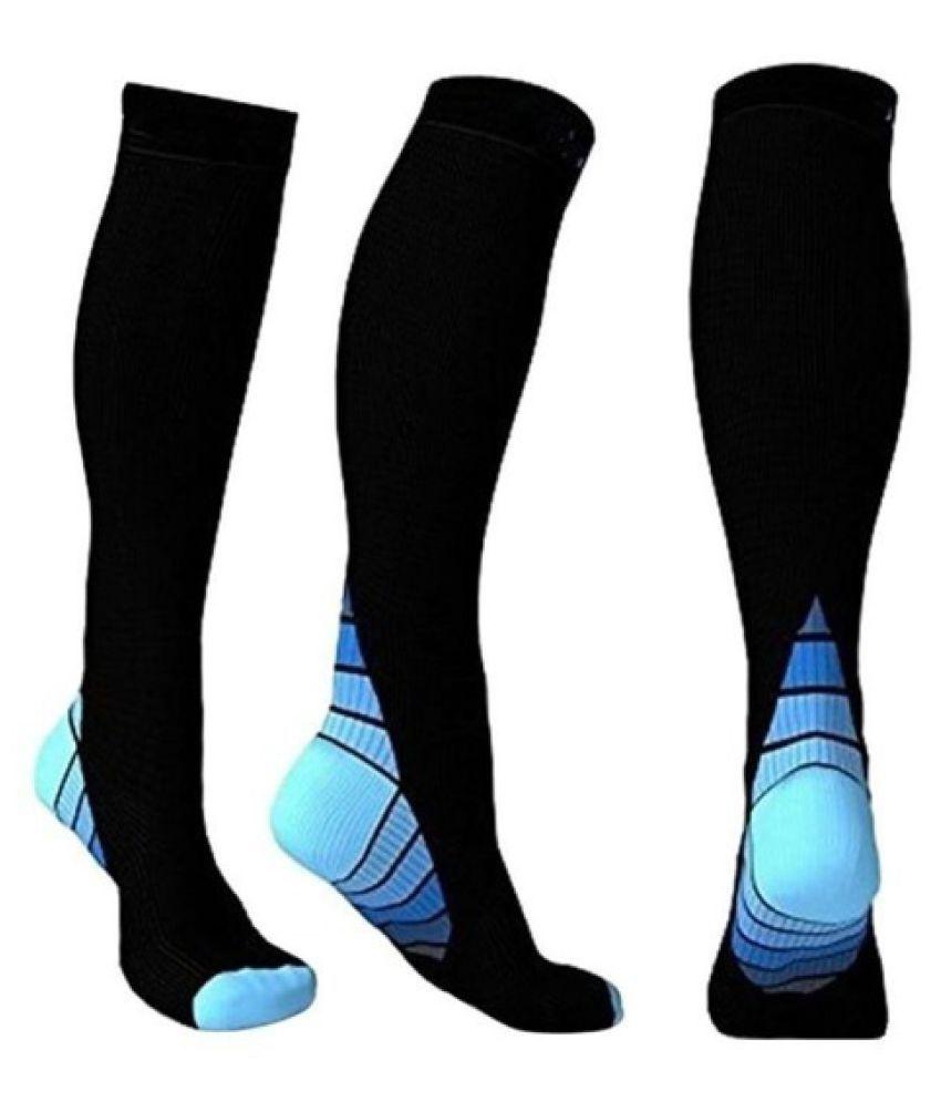 30-40 mmhg Compression Knee Stockings Relief Calf Leg Support Men Women Socks