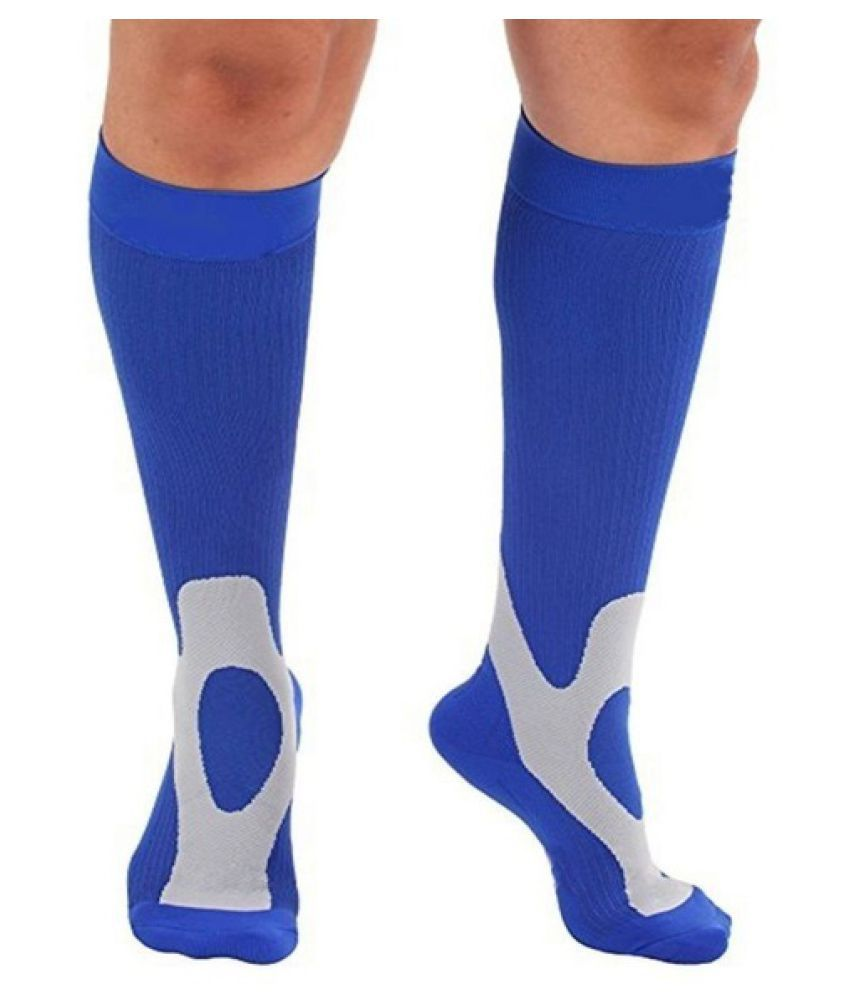 Men\'s Compression Knee Stockings 30-40 mmhg Supports Sport Stocking Socks 1Pair