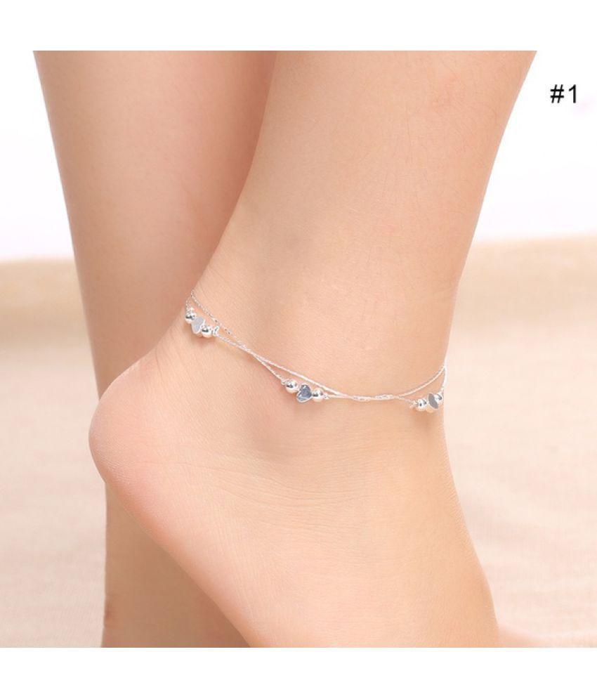 Stylish Women Chain Anklet Bracelet Barefoot Sandal Beach Foot Anklets