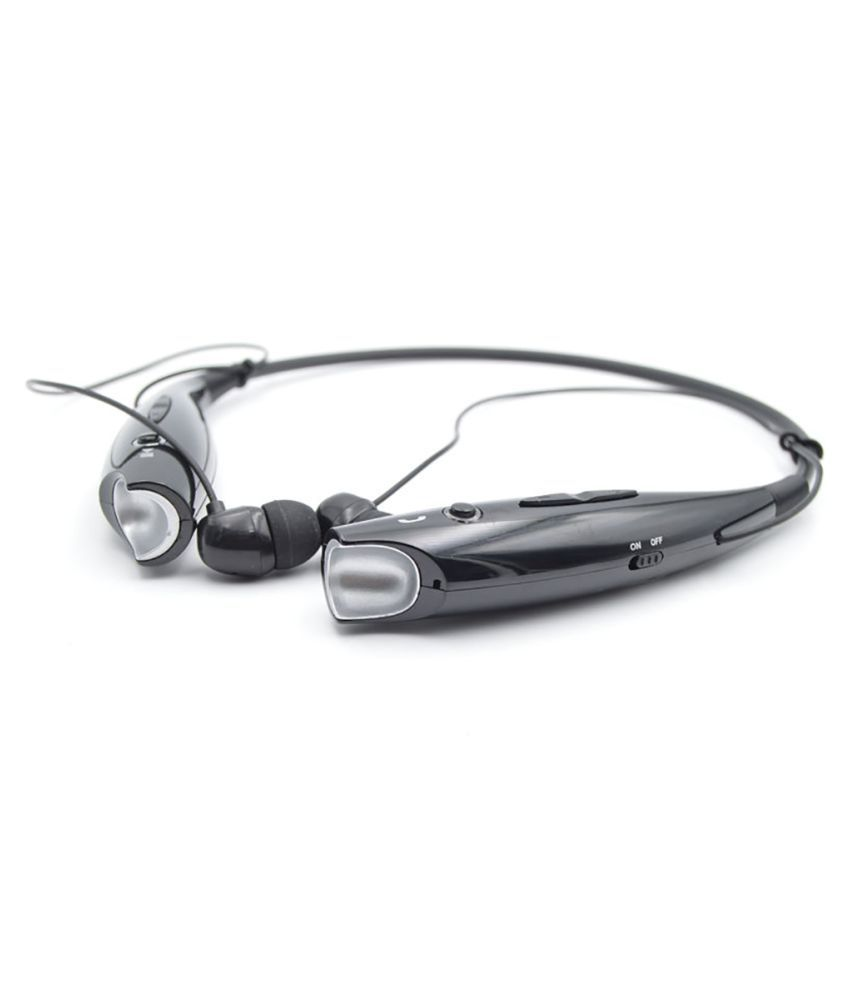 TSV HBS730 wireless Bluetooth Headset - Black