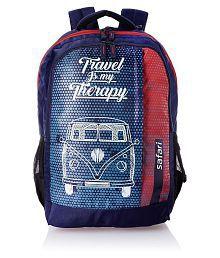 Safari Navy Blue Travelbug Backpack