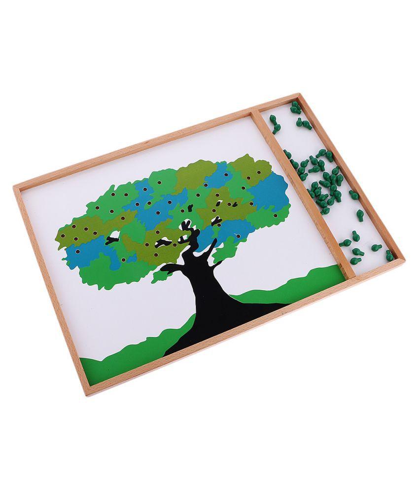NEW Montessori Mathematics Material Apple Tree Game