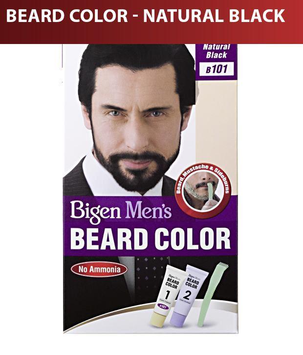Bigen Men S Beard Color B 101 Natural Black Buy Bigen Men S Beard