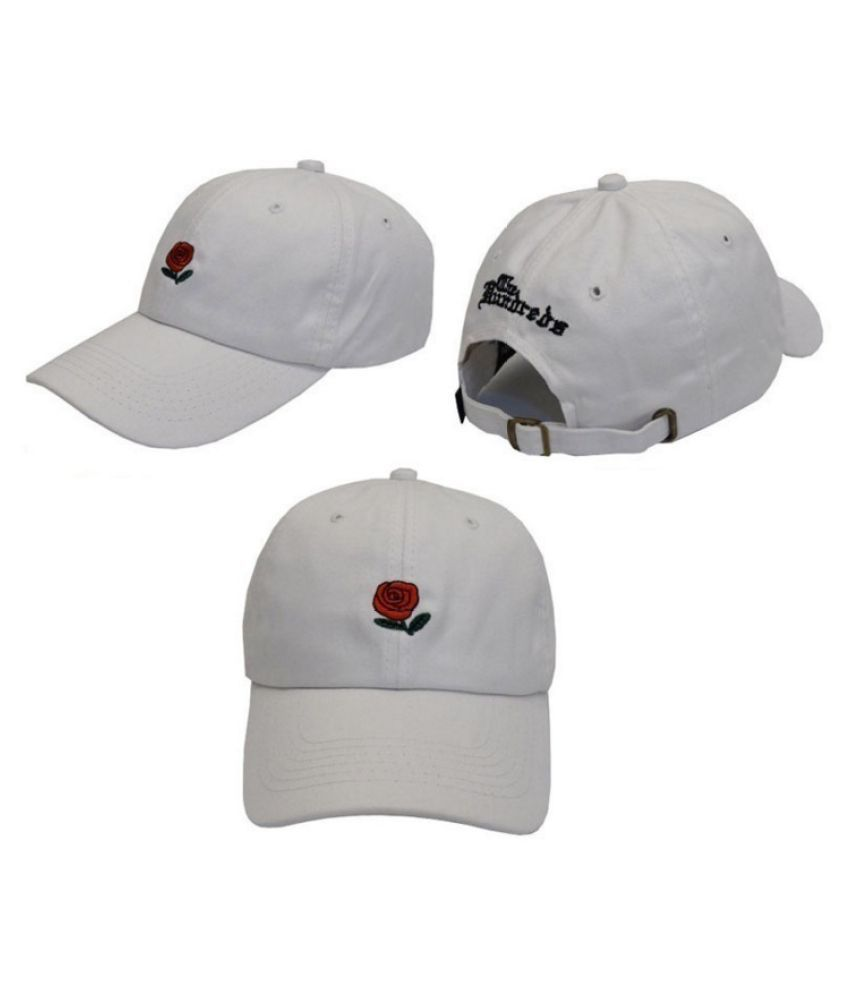 63c52327cc866 ... The Hundreds Rose Embroidered Hat Baseball Cap Fashion Unique  Adjustable Embroidered Rose Hats ...