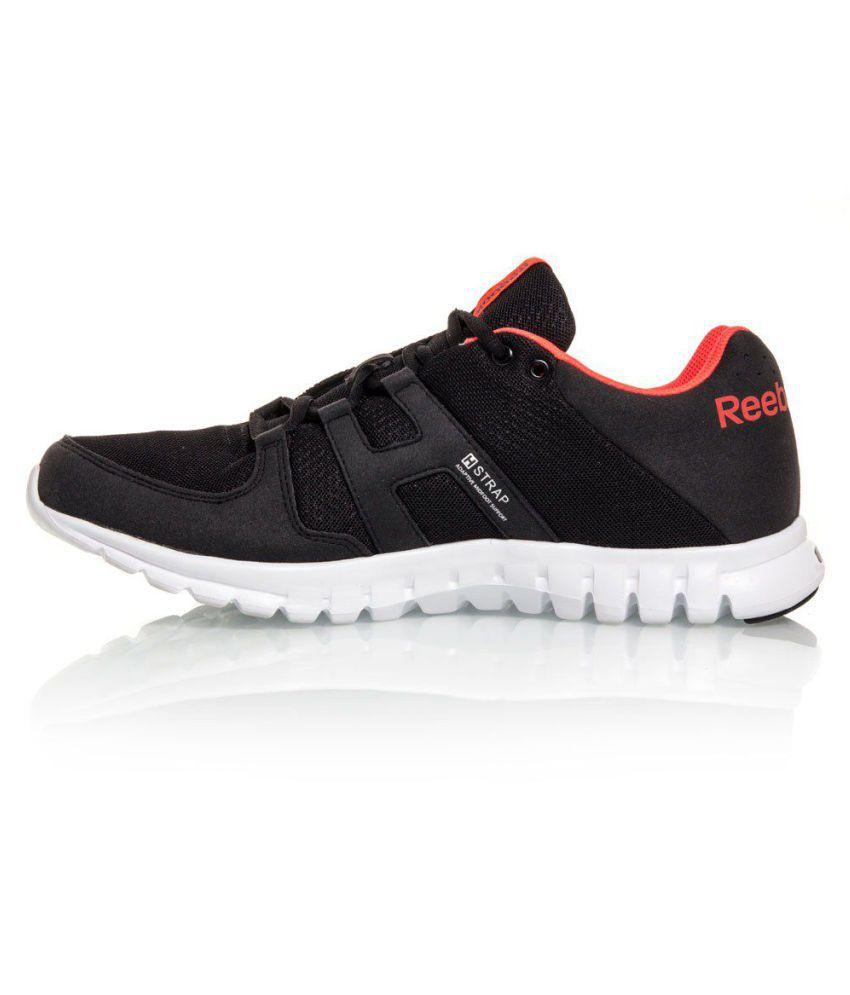 4542683c816 Reebok Sublite Run Black Running Shoes Reebok Sublite Run Black Running  Shoes ...