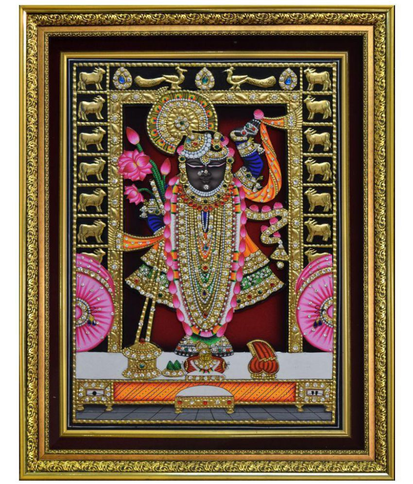 Mukund Arts Wood Painting With Frame