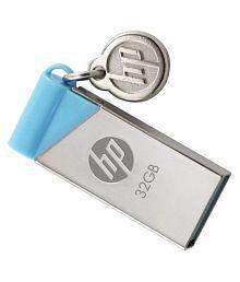 HP pen drive V215B 32GB USB 2.0 Utility Pendrive Pack of 1