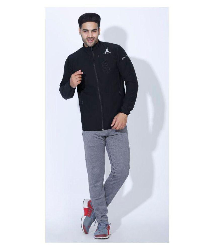Nike Black Polyester Terry Jacket Single Pack Buy Nike Black