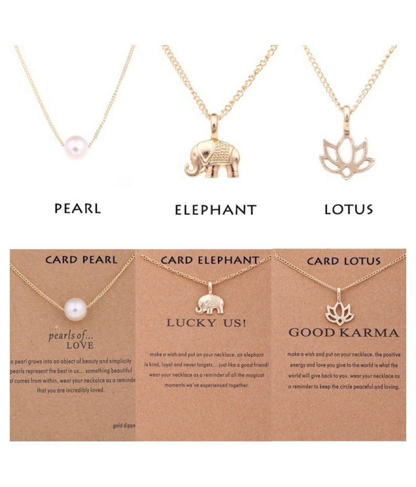 5f487a63986fdc Alien Unicorn Pearl Lotus Chain Sun Lucky Horseshoe Girls Kids Birthday Gifts  Necklace Gold Silver Necklace Sparkling Good Karma ...