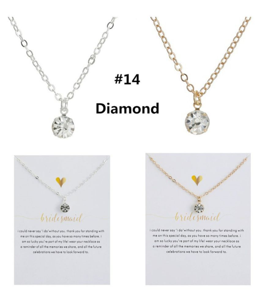 Birthday Gifts Fashion Accessories Pendant Pearl Unicorn Lotus Heart Compass Horseshoe Chain Gold Silver Necklace Sparkling Good Lucky Pendant Necklace Gold Plated Clavicle Chains Women Jewelry New Beginnings