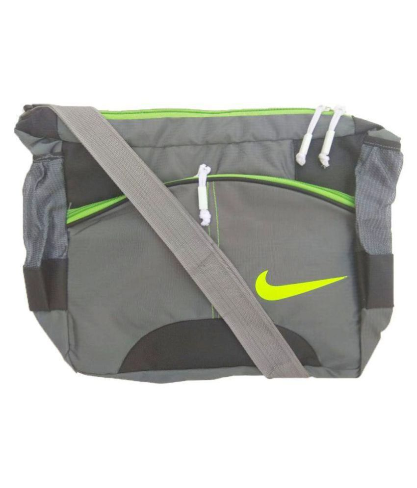 Nike Black Grey Shoulder Bag Backpack - Buy Nike Black Grey Shoulder Bag  Backpack Online at Low Price - Snapdeal f32536bf76