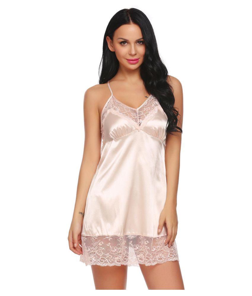 Generic Cotton Pajamas - Beige