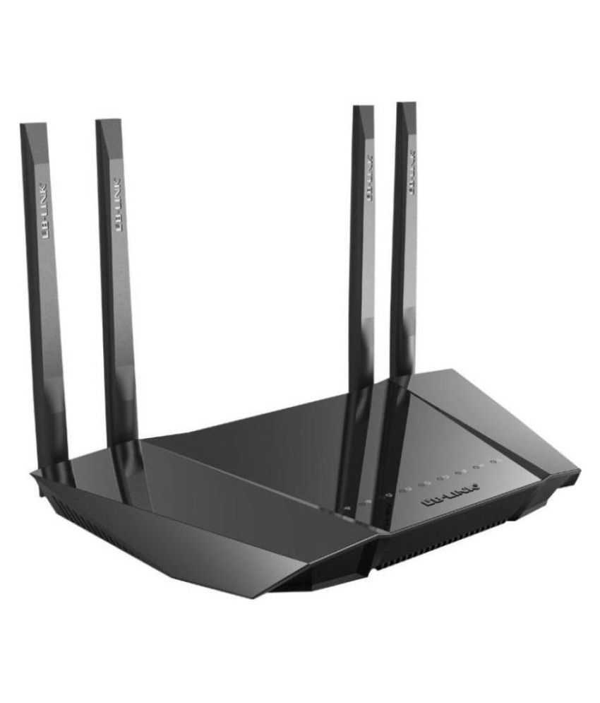 LB Link BL-W1210M 1200Mbps Dual-Band 11AC Wireless Router (Black)