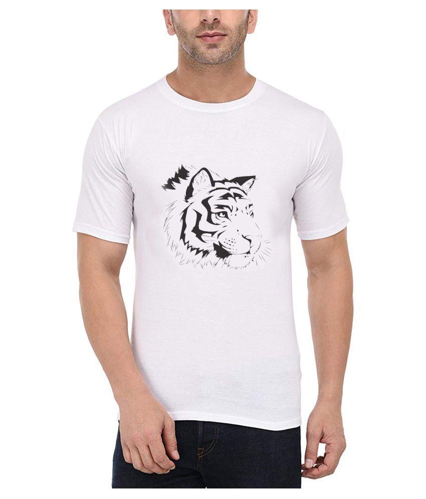 British Terminal White Round T-Shirt Pack of 1