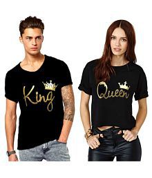 72127de300 Couple T Shirts - Buy T Shirts for Couples Online at Low Prices ...