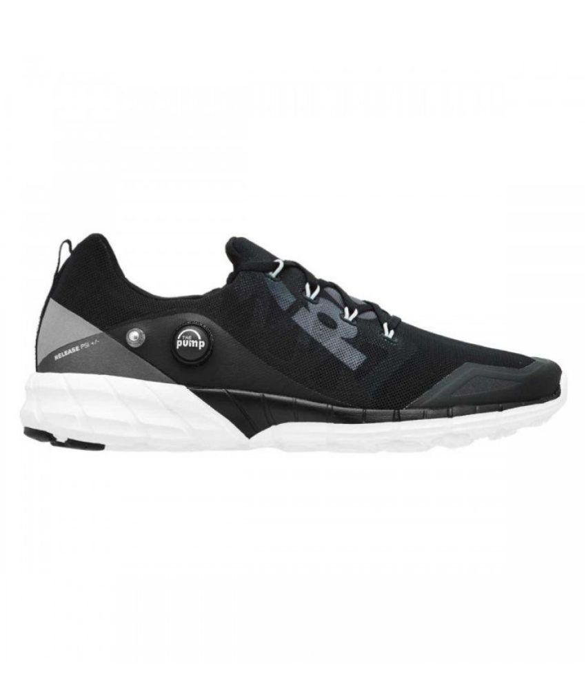 eb977abe3a7a Reebok PUMP Black Running Shoes - Buy Reebok PUMP Black Running ...