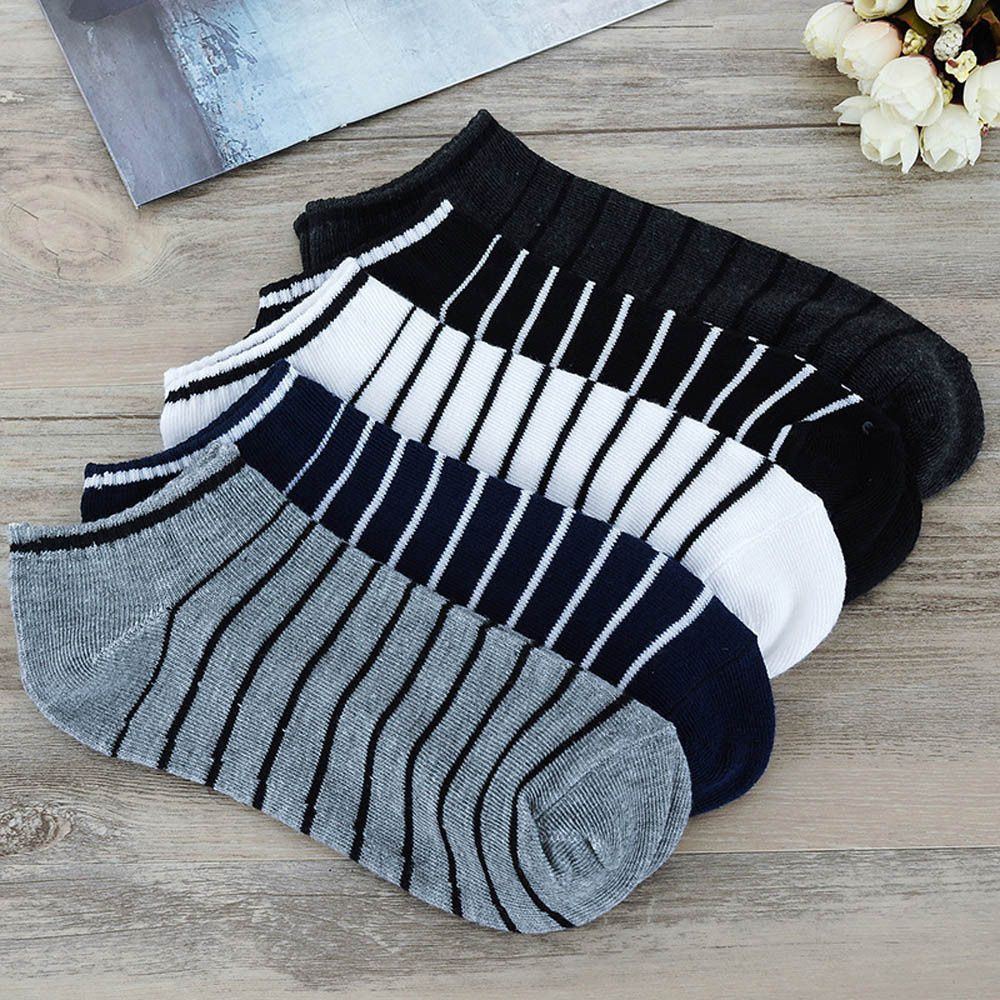 Guru Black Casual Ankle Length Socks
