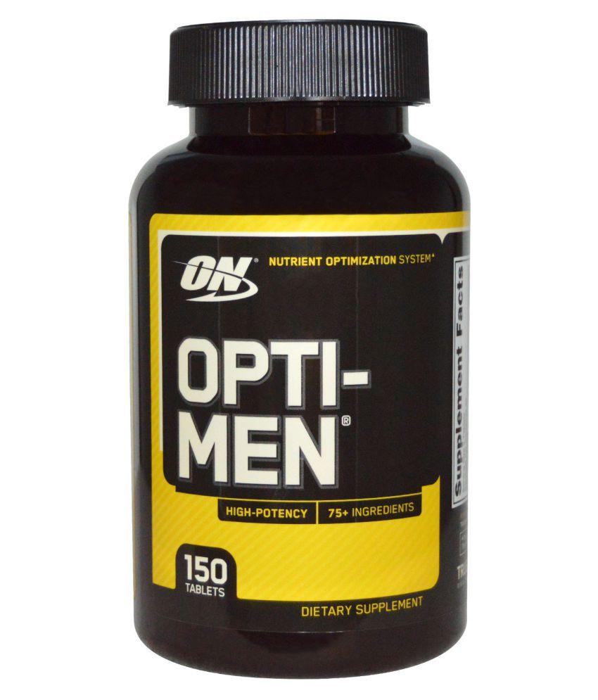 NutritionArena ON Optimum Nutrition Opti-men 150 no.s Multivitamins Tablets