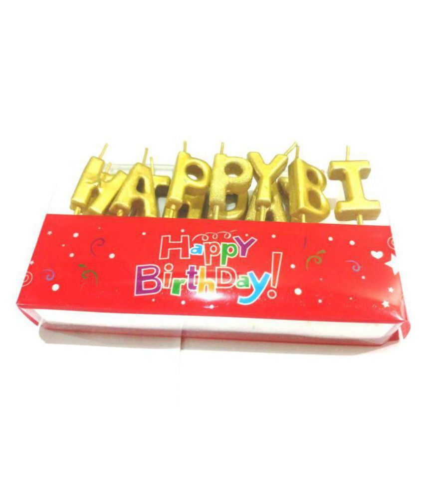Happy Birthday Candle 1PC