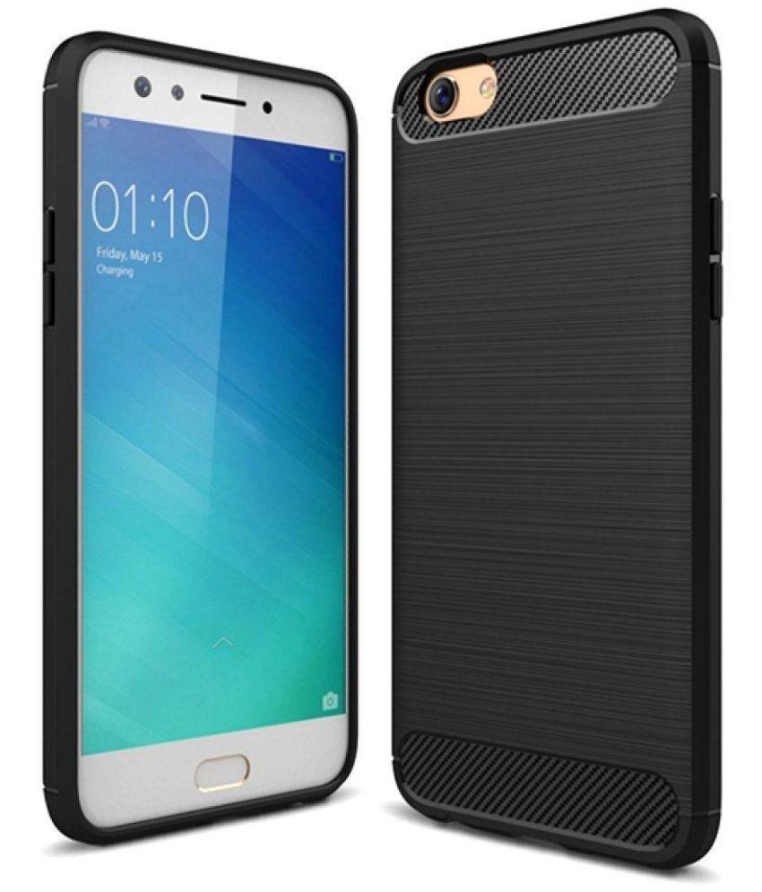 Oppo F3 Shock Proof Case Bracevor - Black