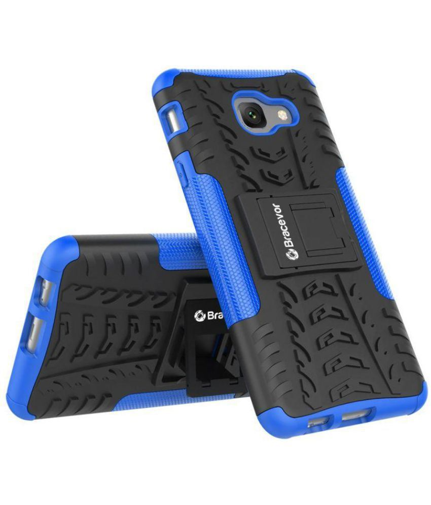Samsung Galaxy On Max Cases with Stands Bracevor   Blue