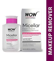 2 ADDED. WOW Skin Science Micellar Facial Cleanser & Makeup ...