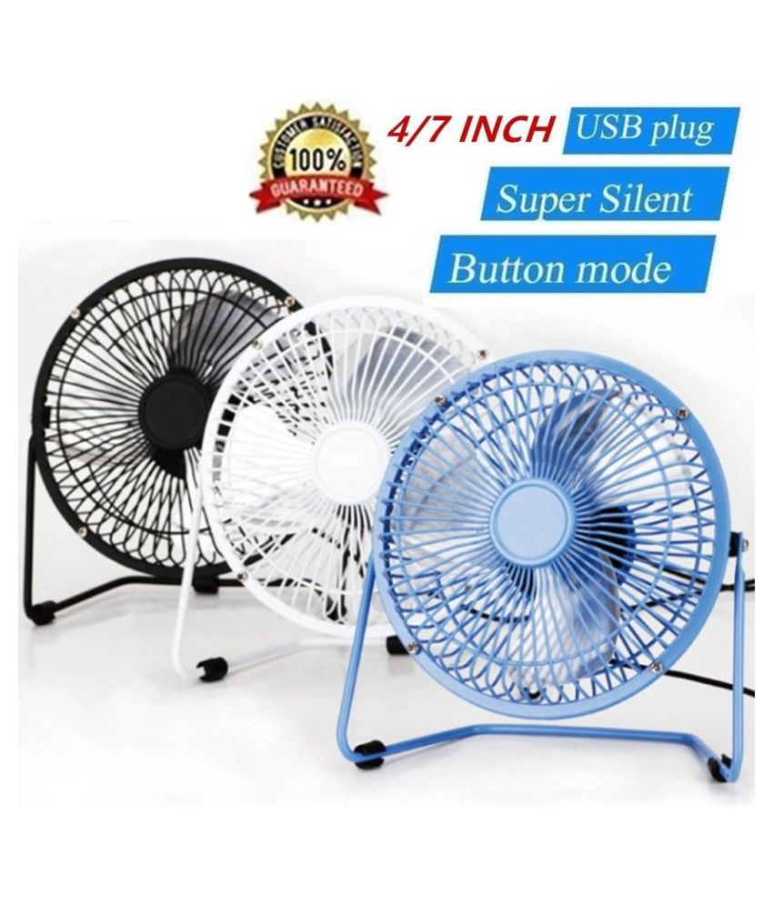 ZXG 175 Mini Metal USB Fan Quiet Desk Cooling Fan Home Of TableFan