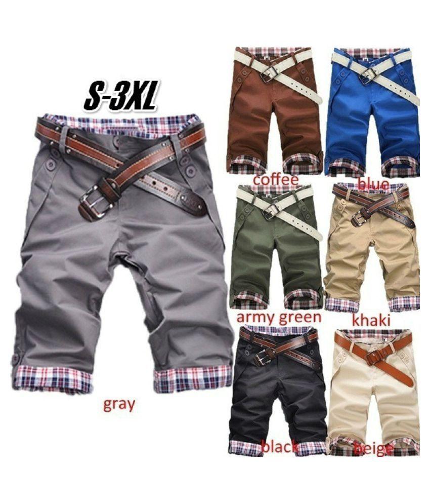 ZXG Brown Shorts