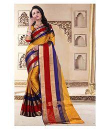 Awesome Multicoloured Art Silk Saree