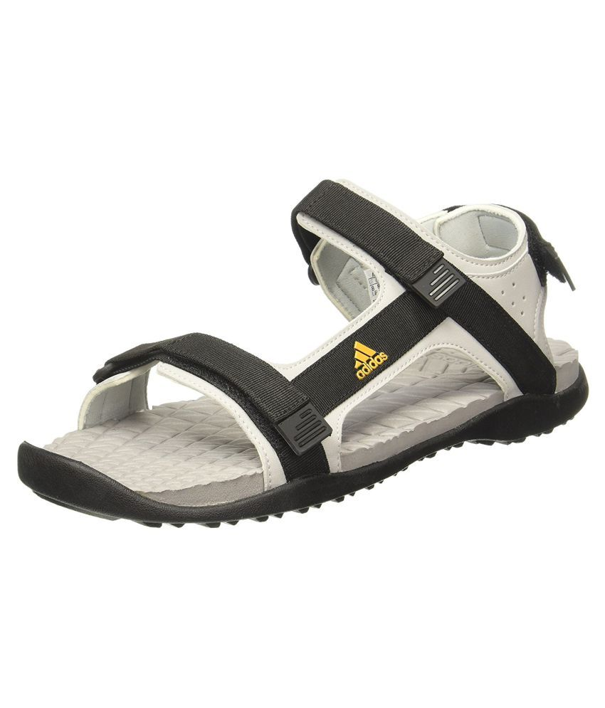 243638512cd4 Adidas RAVISH M Black Sandals Price in India- Buy Adidas RAVISH M Black  Sandals Online at Snapdeal