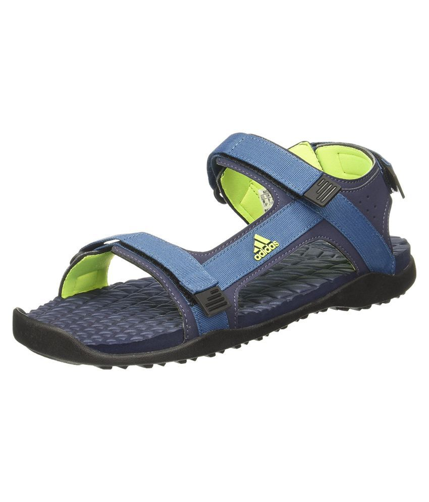 e1afd6140 Adidas RAVISH M Blue Sandals Price in India- Buy Adidas RAVISH M Blue  Sandals Online at Snapdeal