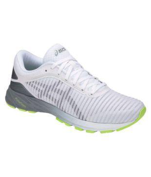 Asics DynaFlyte 2 White Running Shoes