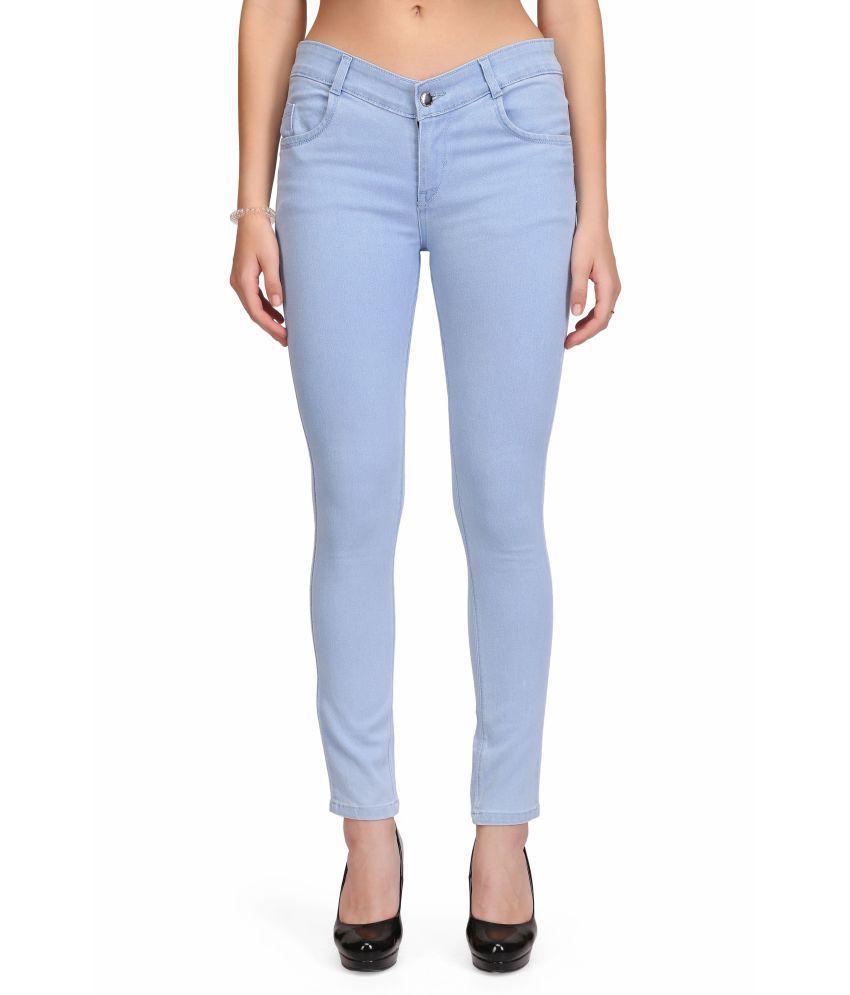 RPU Denim Lycra Jeans - Blue